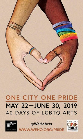 34c7cbc9cdc4 2019 One City One Pride LGBTQ Arts Festival Booklet. by wehopride