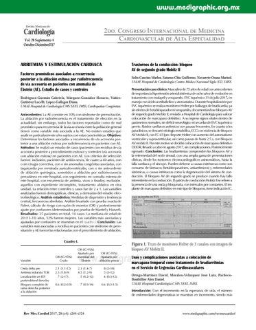 Síndrome de postcardiotomía emedicina hipertensión