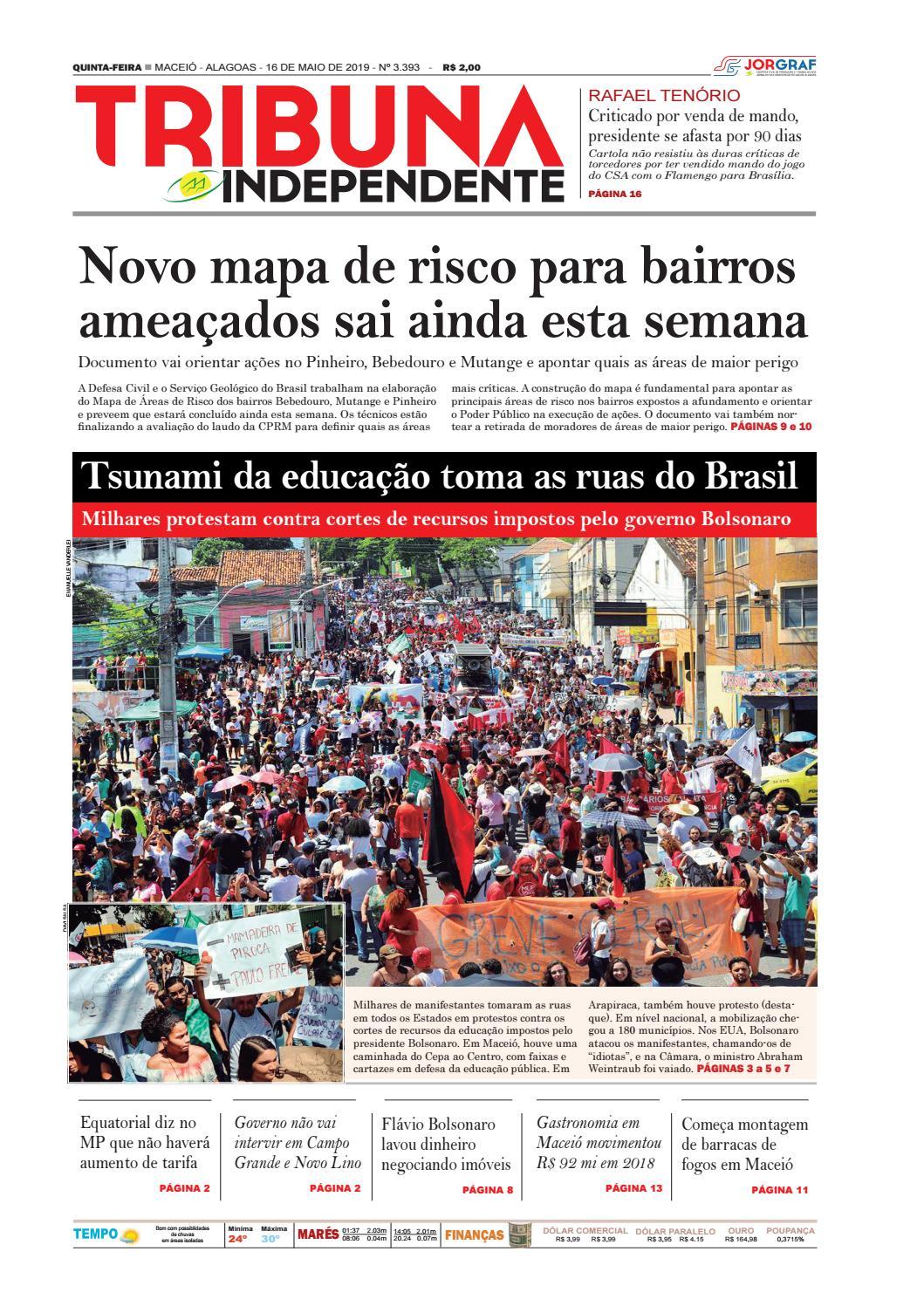 32d205d5c Edição número 3393 - 16 de maio de 2019 by Tribuna Hoje - issuu