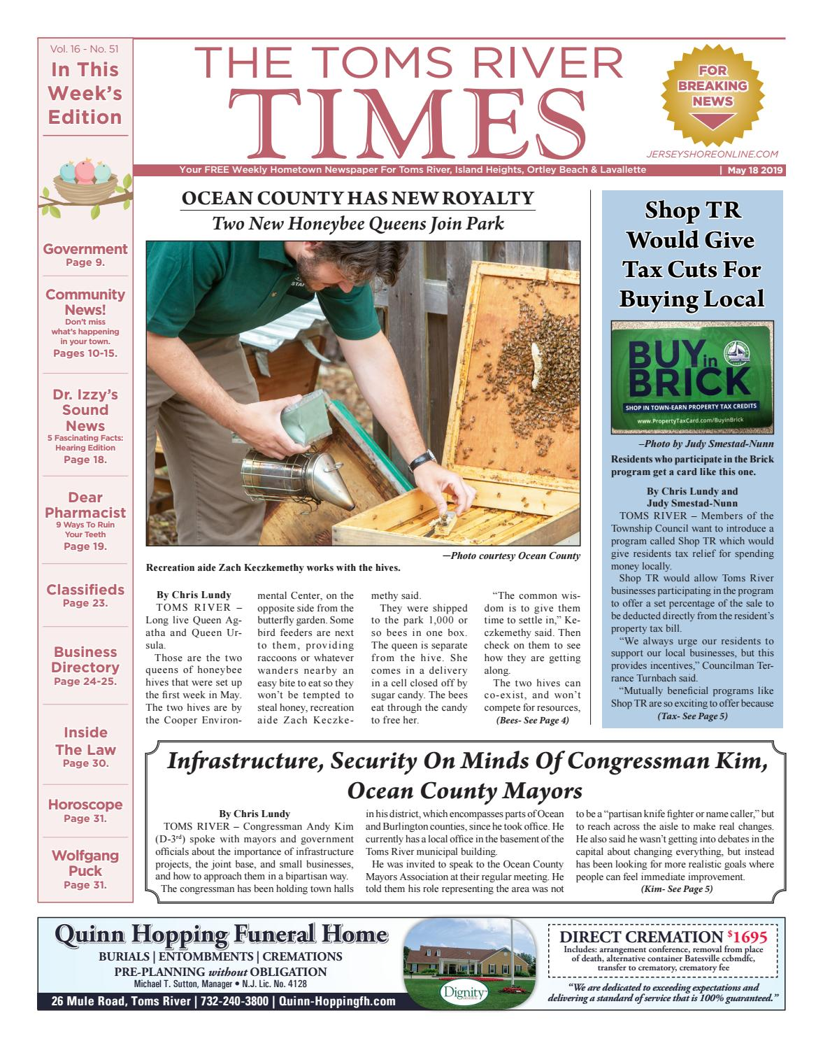 2019-05-18 - The Toms River Times by Micromedia Publications