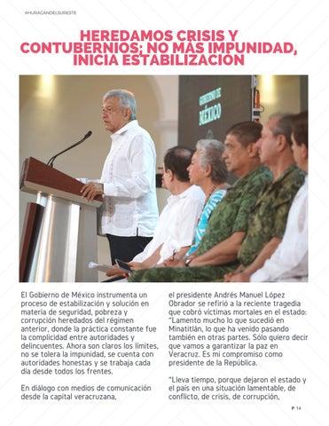 Page 14 of Heredamos crisis y contubernios: No más impunidad.
