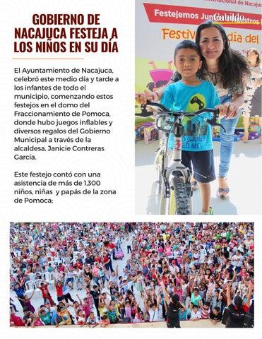 Page 30 of Gobierno de Nacajuca festeja a los niños en su día