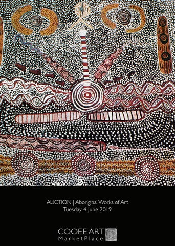 AUCTION | Aboriginal Works of Art | 4 June 2019 by Coo-ee Art - issuu