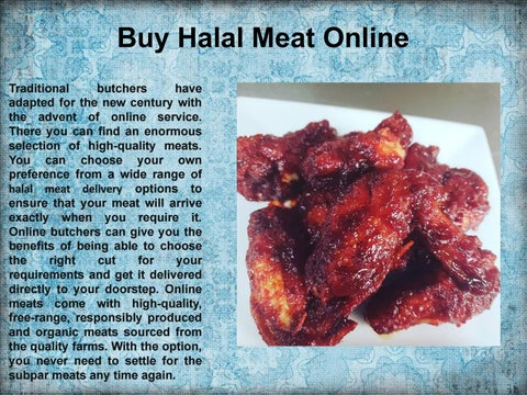 Buy Halal Meat Online by Boxed Halal - issuu