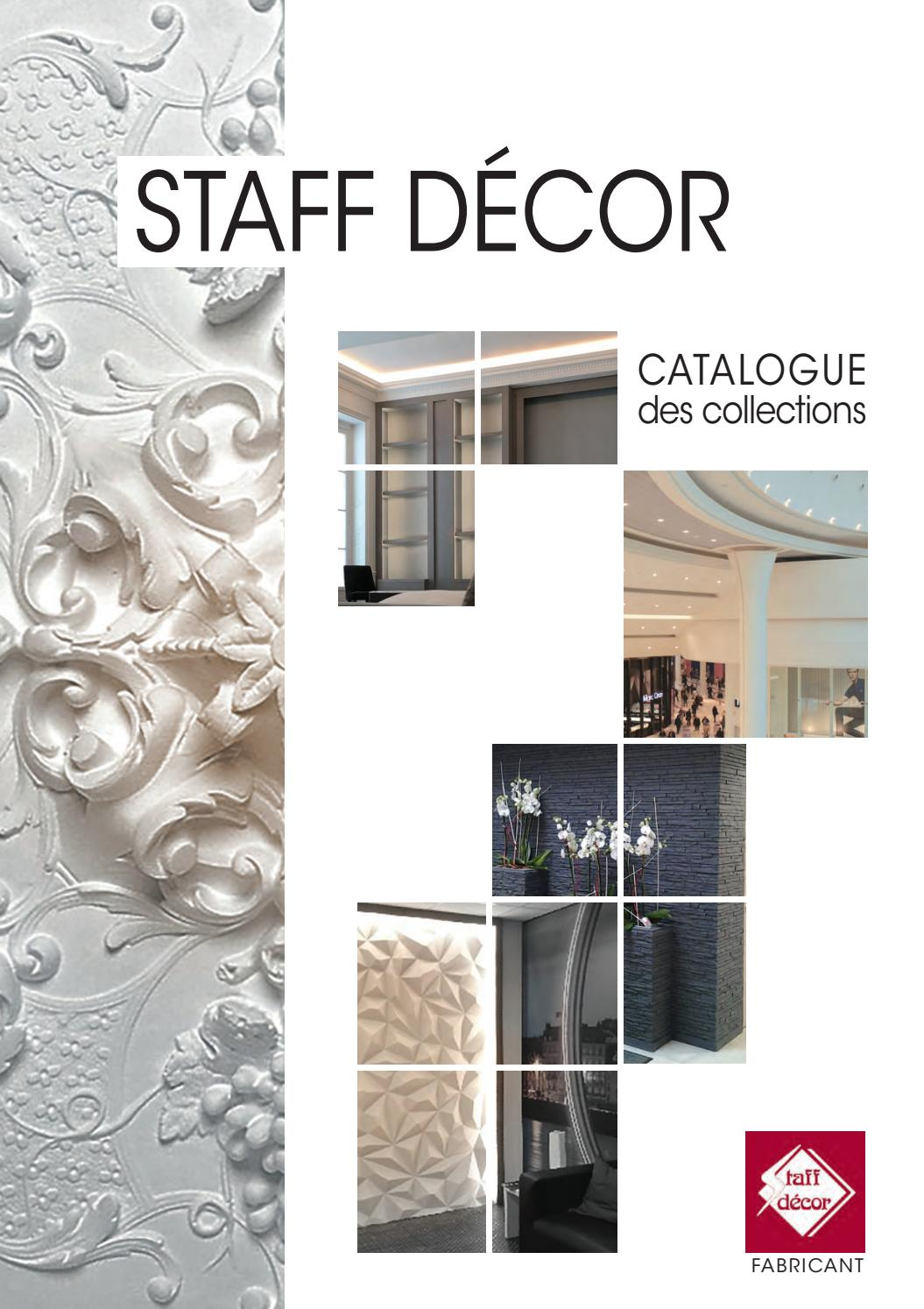 STAFF DECOR Catalogue des Collections 2019 by STAFF DECOR ...