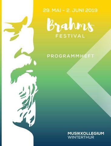 Programmheft Brahms Festival Winterthur 2019 By