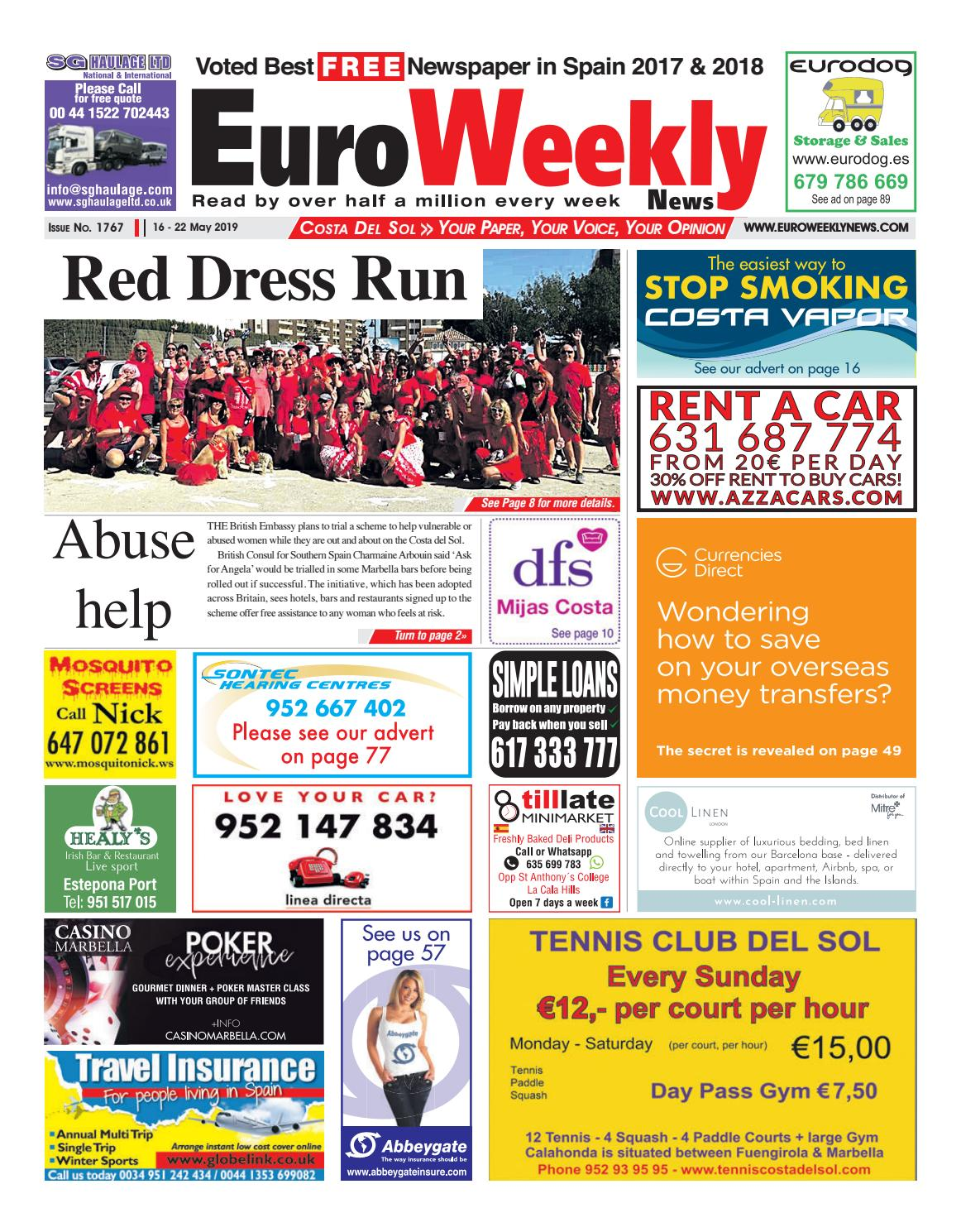 Euro Weekly News - Costa del Sol 16 - 22 May 2019 Issue 1767 by Euro