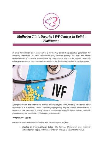 Malhotra Clinic Dwarka   IVF Centres in Delhi   ElaWoman by