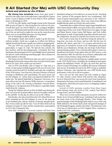 Page 22 of It All Started (for me) with USC  Community Day