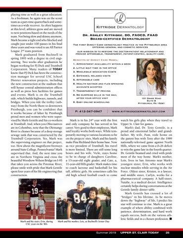 Page 27 of Coach's Corner - Mark Gentile Crossing Bridges