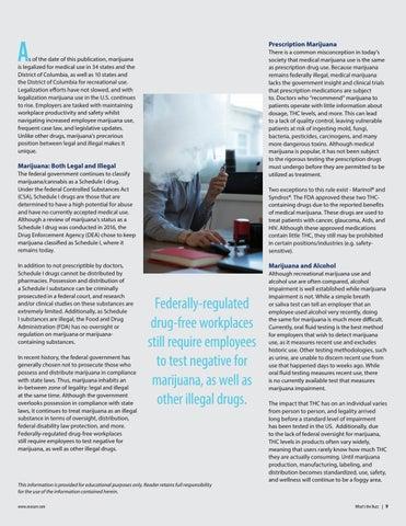 Page 9 of Workplace Marijuana Use