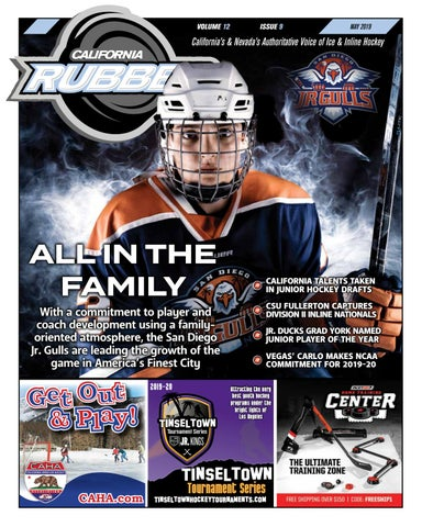 a637636bc5b California Rubber Magazine - May 2019 by Rubber Hockey Magazines - issuu