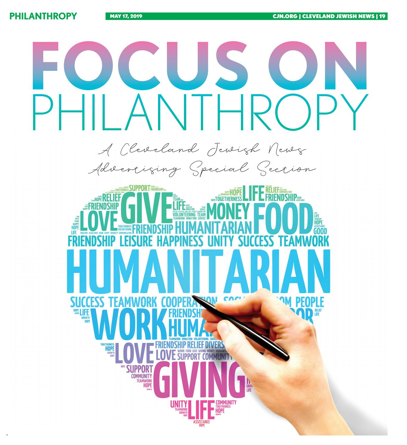 Focus On Philanthropy May 2019 By Cleveland Jewish Publication Company Issuu