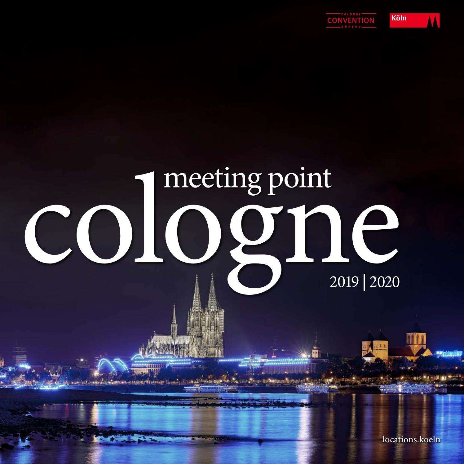 Meeting Point Cologne 2019 2020 By Kolntourismusgmbh Issuu