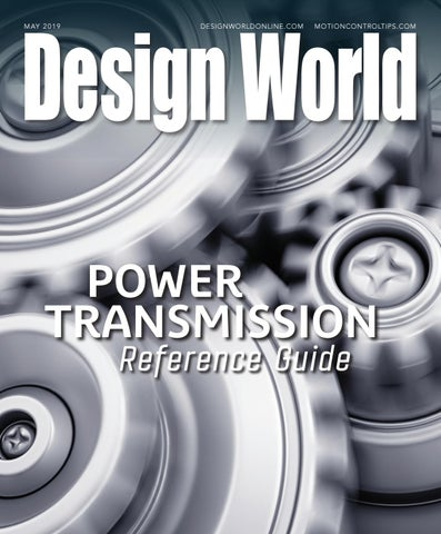Power Transmission Reference Guide May 2019 by WTWH Media
