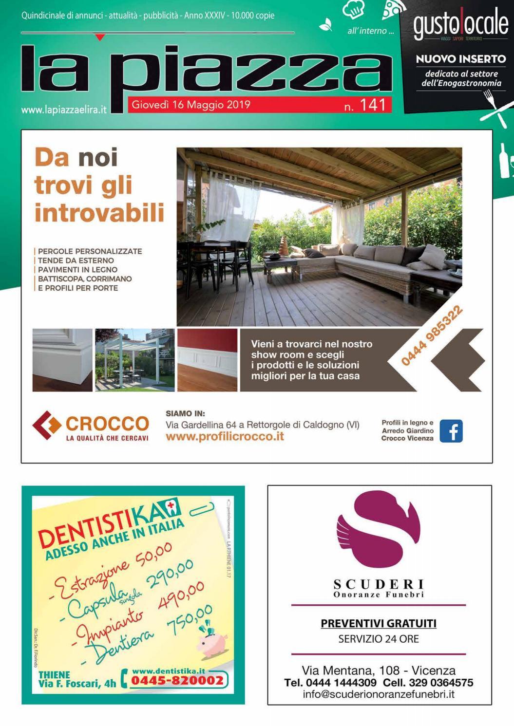 Montagna Legnami Alte Ceccato la piazza di vicenza n 141 by pubblistudio pubblicità srl