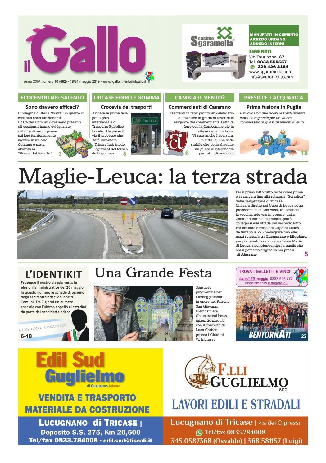 Calendario Raccolta Differenziata La Spezia 2020.Il Gallo Numero 10 2019 By Giuseppe Cerfeda Issuu