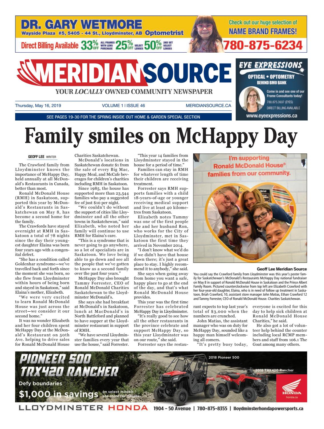Meridian Source - May 16, 2019 by Meridian Source - issuu