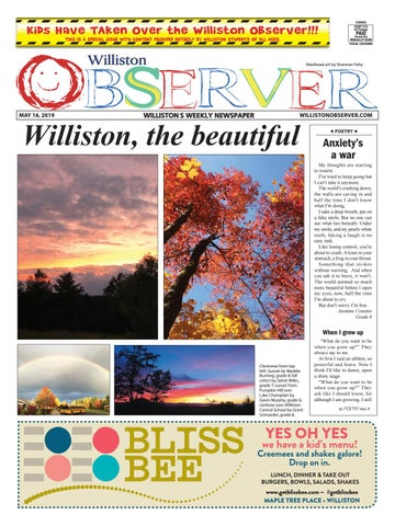 Williston Observer 5-16-19 by Williston Publishing - issuu