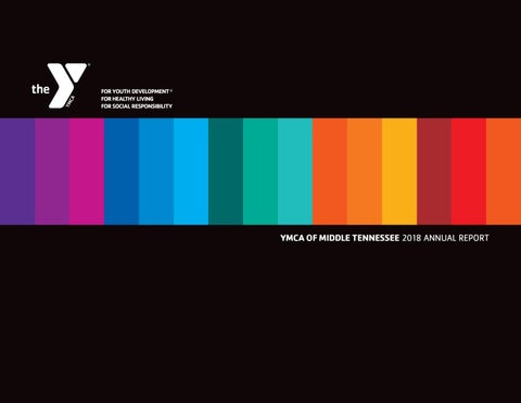 2015 YMCA OF MIDDLE TENNESSEE ANNUAL REPORT by YMCA of Middle