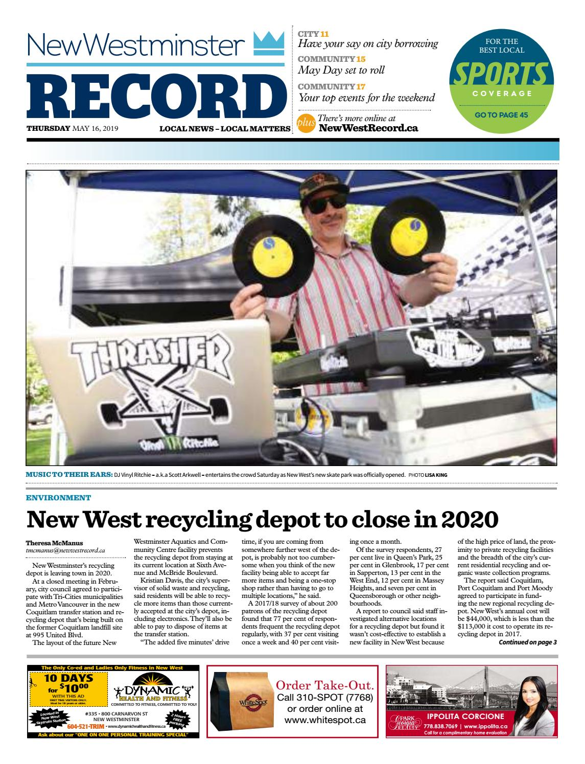 New Westminster Record May 16 2019 by Royal-City-Record - issuu