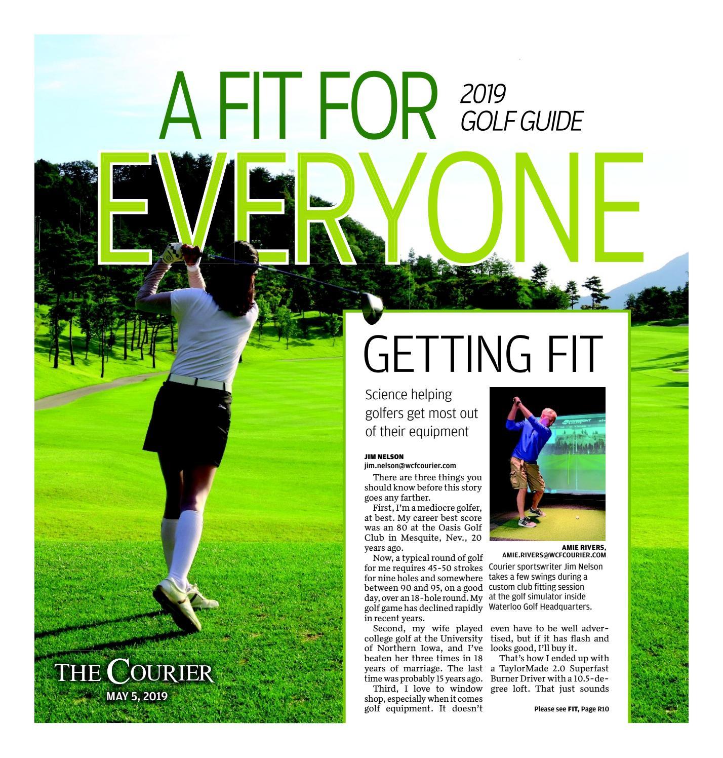 Golf Guide 2019 by Waterloo-Cedar Falls Courier - issuu