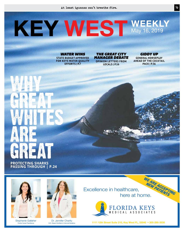 d98df5f28 Key West Weekly – 5/9/19 by Keys Weekly Newspapers - issuu