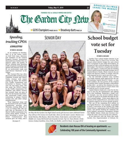 The Garden City News 05 17 19 By Litmor Publishing Issuu