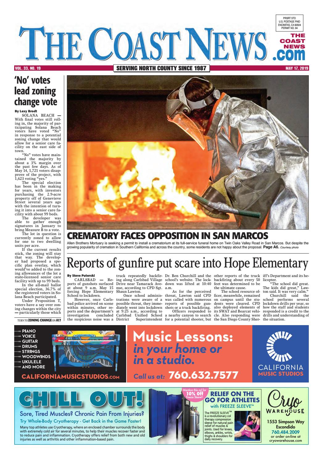 bad0d64593 The Coast News, May 17, 2019 by Coast News Group - issuu