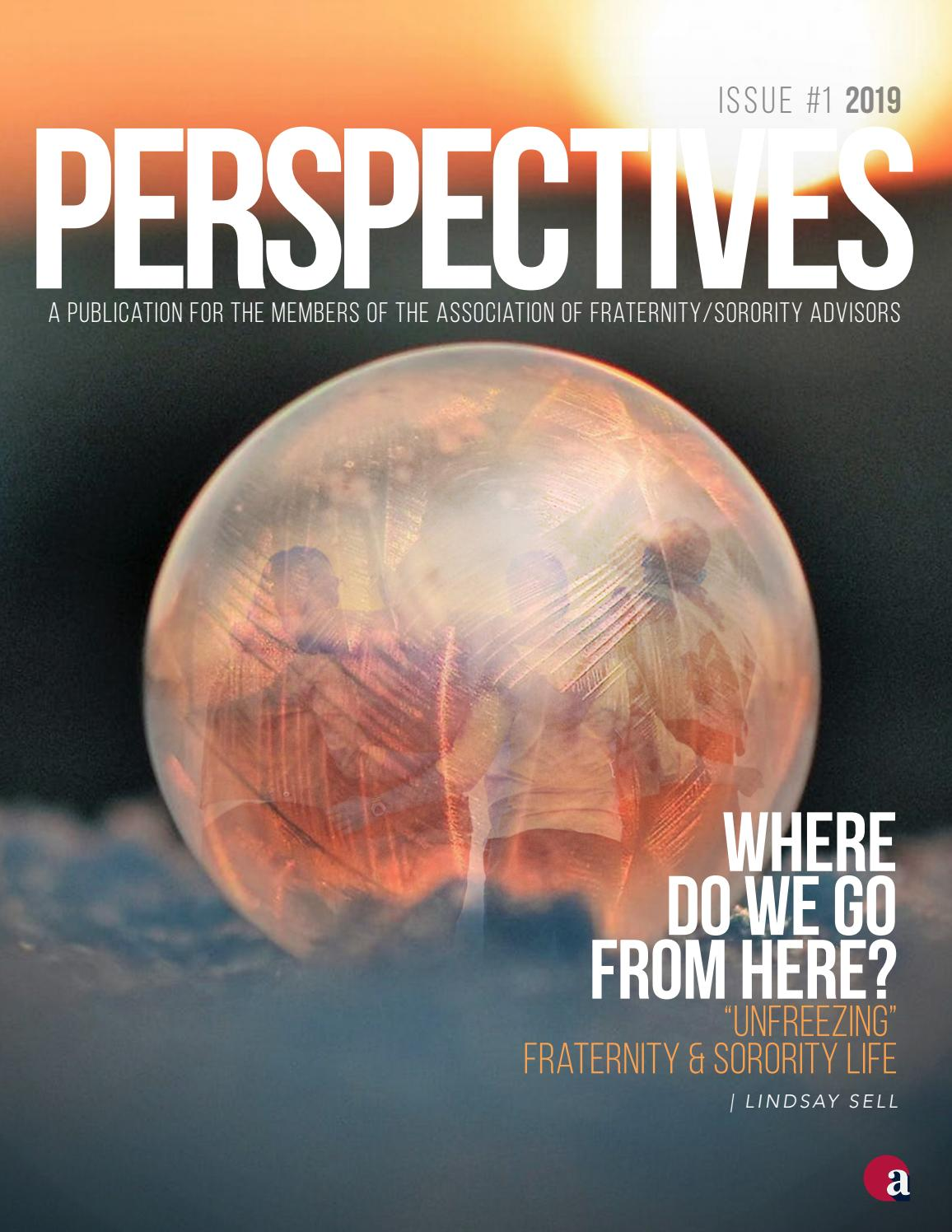 Afa Perspectives Issue 1 2019 Adapting