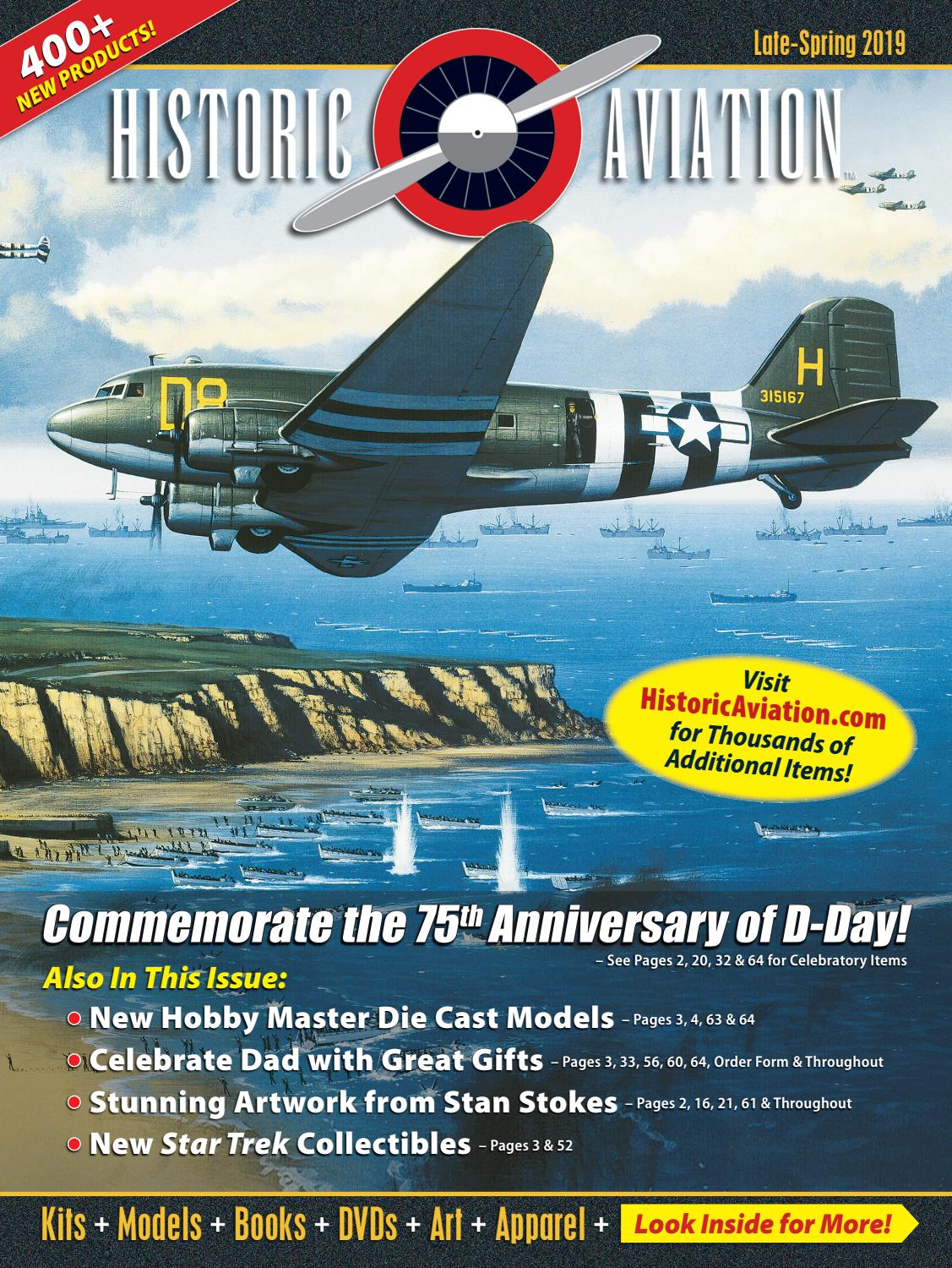 Historic Aviation Late-Spring 2019 Catalog by Historic Sales - issuu