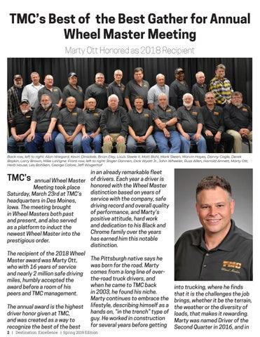 Page 2 of TMC's Best of the Best Gather for Annual Wheel Master Meeting