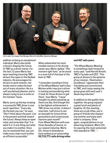 Page 3 of TMC's Best of the Best Gather for Annual Wheel Master Meeting