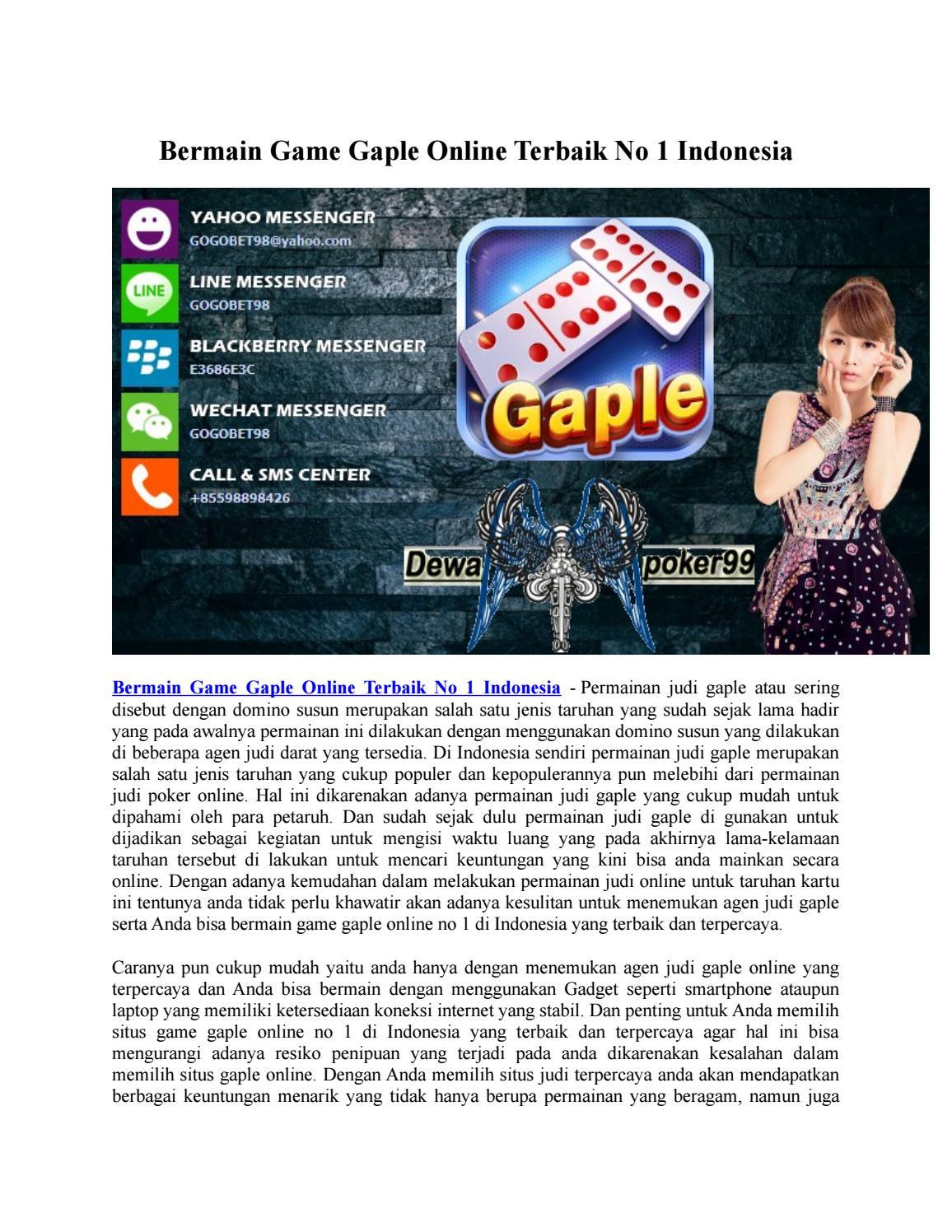 Image Result for  Judi Online Gaple  %>