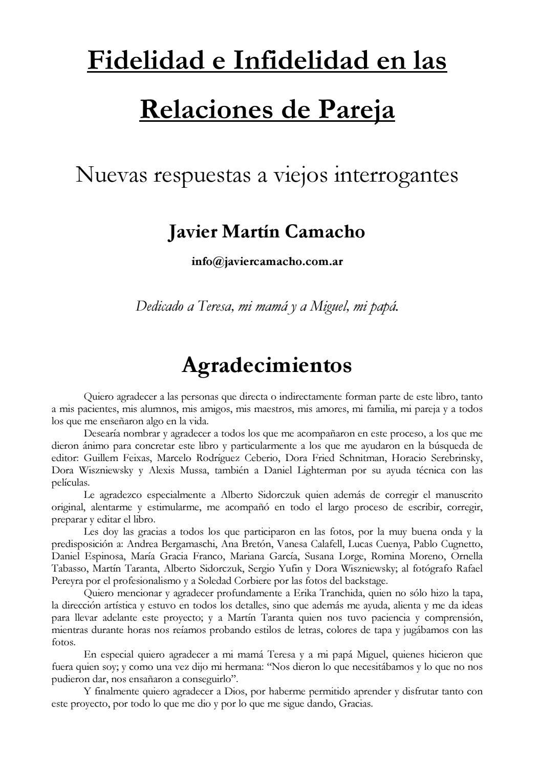 Señales De Que Tu Relaciòn En Pareja No Funciona By Cristina Chavez Issuu