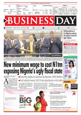 BusinessDay 17 May 2019 by BusinessDay - issuu