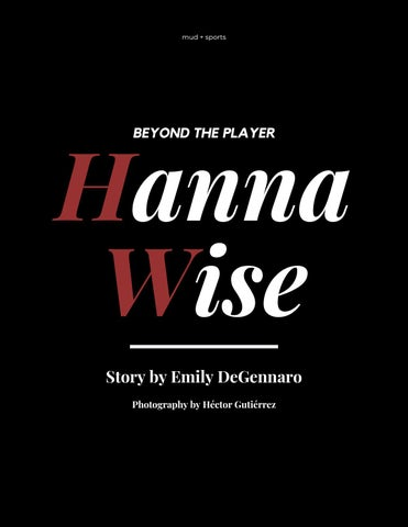 Page 12 of Beyond the Player: Hanna Wise