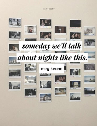 Page 36 of someday we'll talk about nights like this.