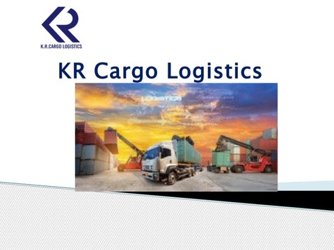 KR Cargo Logistics - Best Cargo Company in Bangalore by