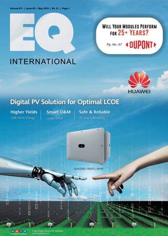 EQ Magazine May 2019 Edition by EQ Int'l Solar Media Group