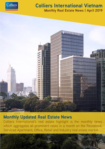 Monthly Real Estate News | April 2019 by Colliers