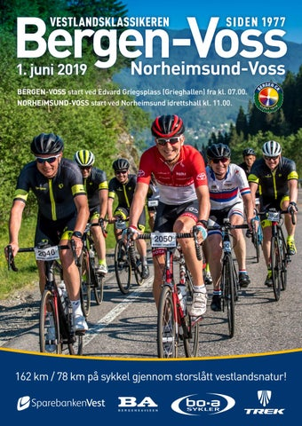 Page 1 of Bergen-Voss 2019 program mobil