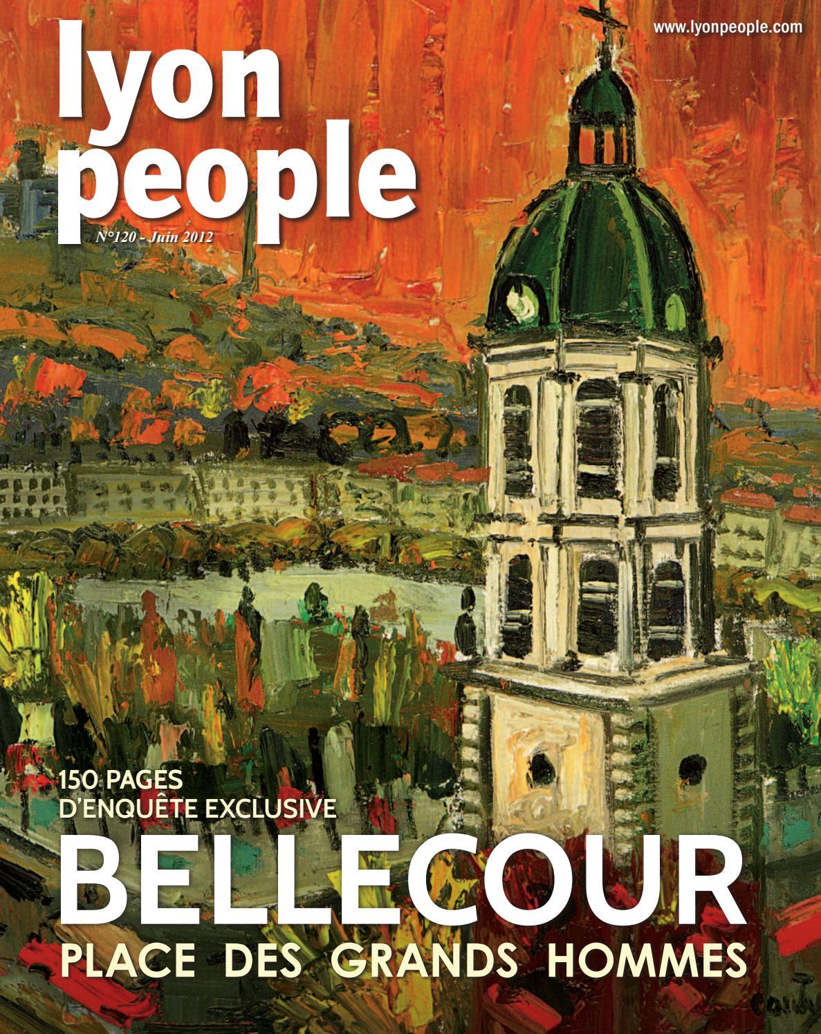 Bellecour People Juin Place By Issuu Lyon 2012 TKJlF1c