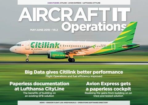 Aircraft IT Ops V8 2, May-June 2019 by aircraftit - issuu