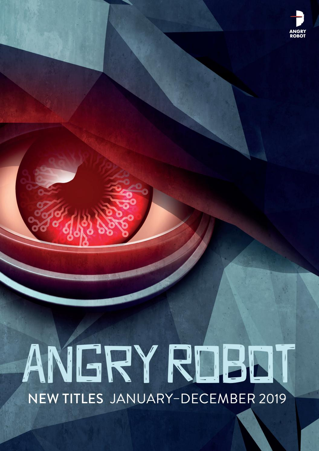 New Title Catalogue from Angry Robot Books 2019 by Angry