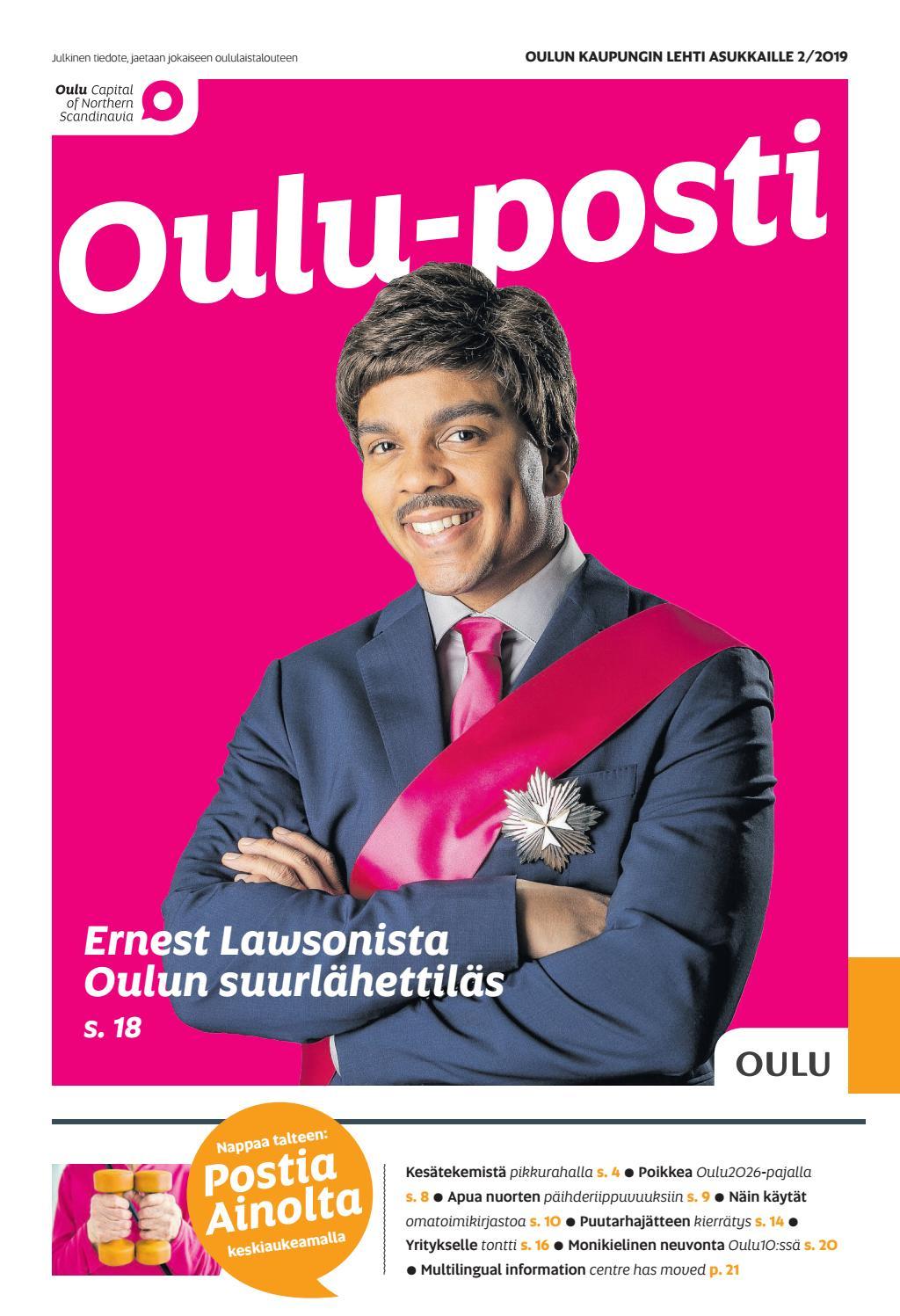 Oulu Posti 2 2019 By Otavamedia Oma Issuu