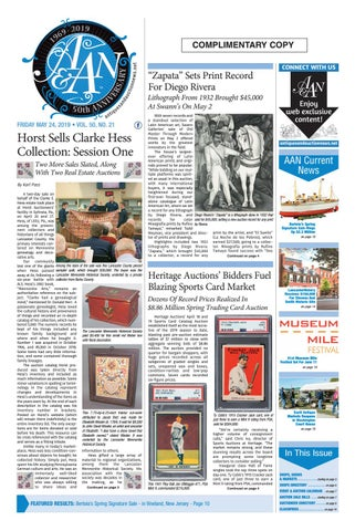 00411267ca0 Antiques & Auction News 052419 by Antiques & Auction News - issuu