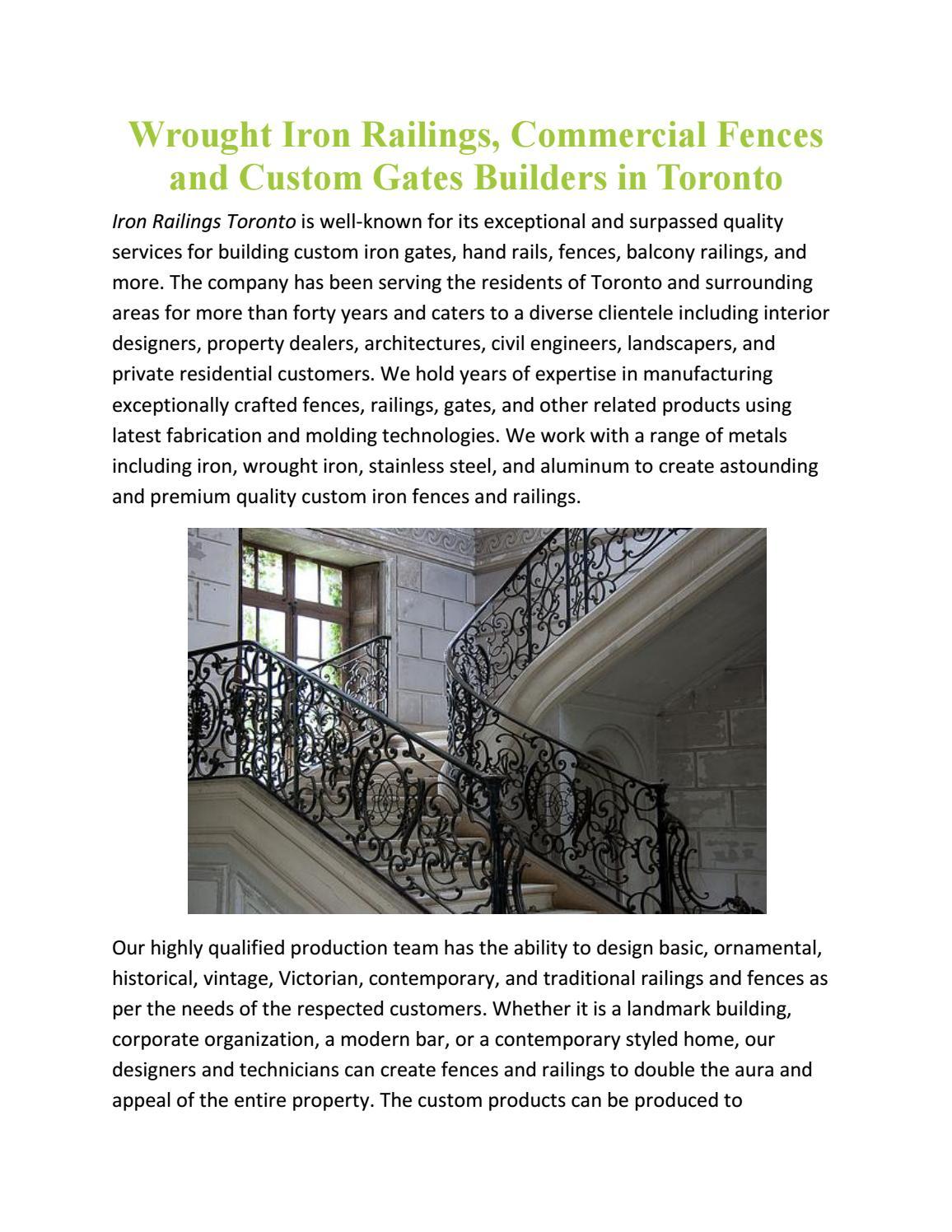 Iron Railing Design For Balcony In Toronto By Rishabh Singla Issuu,Female Jewellery Gold Ring New Design 2020