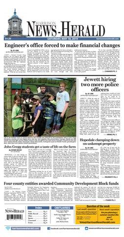 Harrison News Herald 5-18-19 by Schloss Media - issuu