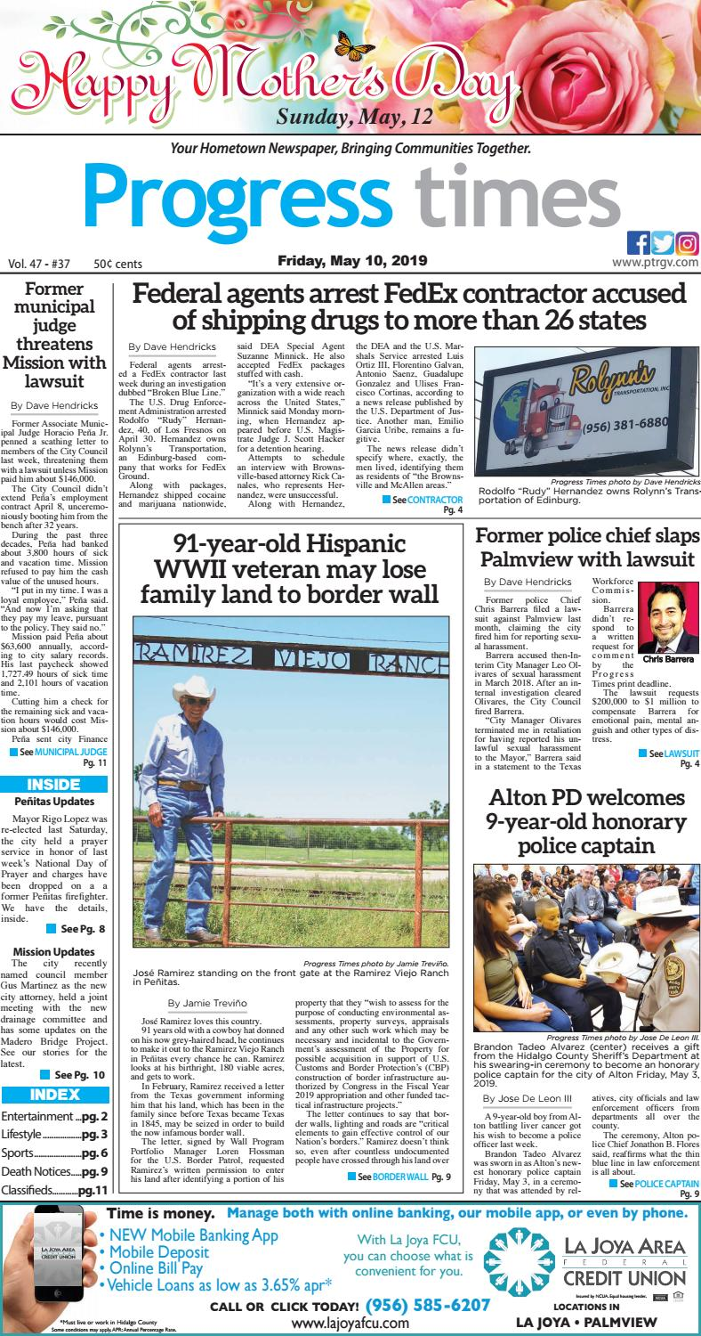 Friday, May 10, 2019_PT ISSUE by Progress Times - issuu